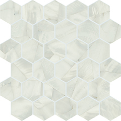 alabastro deco grigio hexagon
